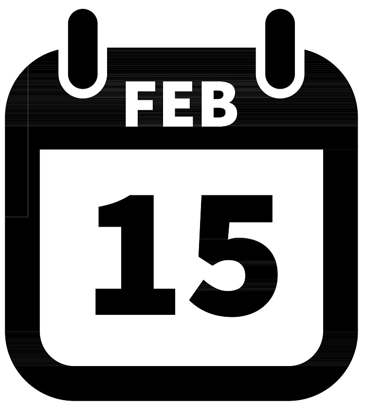 Icon for February 15